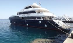 Outstanding Price and Value for a 143 foot Mega Yacht 4 Suites and 10 Twin Rooms Full Salon - Restaurant and each Room has it's own Mini Bar and AC Two Zodiac Tenders Nominal Length: 143' Length Overall: 143' Drive Up: 15' Engine(s): Fuel Type: Other