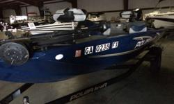 The wide beam delivers rock-steady handling. Generous rod storage and livewells keep the decks clear. Every inch of Polar Kraft models give fish heads countless reasons to cheer and leaves the fish whining. This boat comes equipped with a 2008 SUZUKI