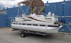 2010 Qwest 7516 Adventure*Mercury 9.9 EL 4 stroke outboard*Minn Kota Power Drive V2, 12 Volt 54 lb thrust trolling motor with wireless remote and wired foot control*Minn Kota 12 Volt electric anchor*Lowrance Elite 4-HDI