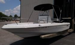 2010 Sea Fox like New. This boat is a one owner boat that has been professionally maintained since new. 2010 Mercury 115HP 4 Stroke. 2010 Trailer with power winch. Full custom cover with bimini top. New water pump,fuel line, air filter, battery and added