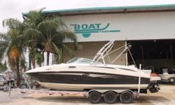 2010 Sea Ray 280 Sundeck Location: Marrero, LA, US WAS $56,995 NOW ONLY $51,595 Stock #7796 2010 MerCruiser 350 Magnum Motor 2010 Mercruiser Bravo Three with dual prop outdrive 2011 Triple axle Magic Tilt trailer LOW INTEREST FINANCING