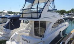 2010 Sea Ray 390 Sedan Bridge Cummins Diesels, Low Hours, Turn Key.  Raymarine electronics including radar and autopilot.  2 staterooms 1 head.  Tons of living space indoor and out.  Extended Swim Platform. Cherry woodwork and black