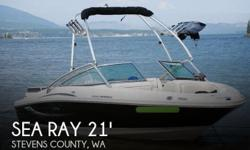Actual Location: Centralia, WA - Stock #077138 - If you are in the market for a bowrider, look no further than this 2010 Sea Ray 205 Sport Bowrider, just reduced to $26,500 (offers encouraged).This boat is located in Centralia, Washington and is in great