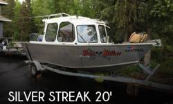 Actual Location: Anchorage, AK - Stock #111599 - If you are in the market for an aluminum fish, look no further than this 2010 Silver Streak 20, priced right at $43,300 (offers encouraged).This boat is located in Anchorage, Alaska and is in good
