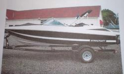 This is a well maintained, one owner boat. It has been stored inside in the winter. The 3.0 Mercruiser has power to pull tubes and skier's. It has an extended swim platform and a durable fiberglass floor. There is also a custom bow and cockpit cover that
