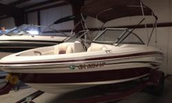 NEW ARRIVAL! 2010 TAHOE Q4 THIS BOAT HAS BEEN WELL MAINTAIN. YOUR PRICE INCLUDES: 2010 INBOARD MERC 3.0 2010 TAHOE SWING TONGUE TRAILER JENSEN CD PLAYER BIMINI TOP Nominal Length: 20' Length Overall: 20' Engine(s): Fuel Type: Other Engine Type: Stern