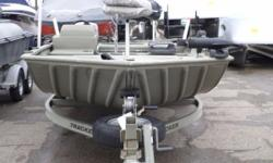 2010 Tracker 2072 Livewell Side console 70LB Thrust Minn Kota Rod Storage 2 Seats on bench 2 Movable fishing seats with extensions Nominal Length: 20' Engine(s): Fuel Type: Other Engine Type: Outboard Stock number: 11311