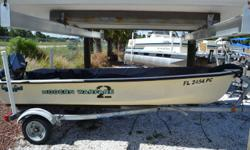 2011 14' Sea N Sport with a Cover and Trailer. No motor included in price. Only $2200.00 Plus Tax and tag fees. NO DEALER FEES OR RIGGING FEES OR SHIPPING FEES NO B.S.! Call Antonietti Marine 727-862-0776
