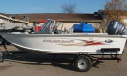 "New 2011 In stock!! Category: Powerboats Water Capacity: 0 gal Type: Open Fisherman Holding Tank Details:  Manufacturer: Polar Kraft Holding Tank Size:  Model: V 179 TC Passengers: 0 Year: 2011 Sleeps: 0 Length/LOA: 17' 10"" Hull Designer:  Price: $21,500"