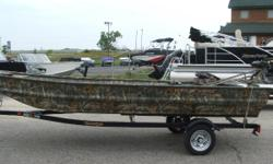 Powered with Mud Buddy Longtail 27hp Our 754 is the definition of versatility. This boat was built for hunters who love to fish! When hunting season ends, many of our customers turn to fishing. This boat knows no off-season.The LDV models have a low front