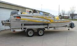 2011 AAD 20' Plate Boat and Custom Trailer 2011 AAD 20' Plate Boat and Custom Trailer. AAD Plate boats are custom, locally built, and will last a lifetime! Options include: Charger MK 330D, Spare Tire, Jack Plate, and Bimini Top! The price is for boat and