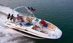 """Stock ID: 90765Specs Length Overall (LOA): 26' 4"""" Overall Length w/ Std. Extended Swim Platform: 26'4"""" / 8.03 m Beam: 102 Draft (Drive Down): 38 Draft (Drive Up): 21 Dry Weight: 5168 Fuel Capacity: 65 Water Capacity: 20 Holding Tank - Optional: 10 gal /"""
