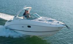 """Stock ID: 11SR260SDSpecs Length Overall (LOA): 26' 7"""" Category: Powerboats Water Capacity: 0 gal Type: Cruiser (Power) Holding Tank Details:  Manufacturer: Sea Ray Holding Tank Size:  Model: Sport Cruiser 260 Sundancer Passengers: 0 Year: 2011 Sleeps: 0"""