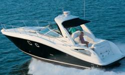 """Stock ID: 11SR350SDSpecsLength Overall (LOA): 35' 6"""" Stock ID: 11SR350SDSpecs Length Overall (LOA): 35' 6"""" More Category: Powerboats Water Capacity: 0 gal Type: Cruiser (Power) Holding Tank Details:  Manufacturer: Sea Ray Holding Tank Size:  Model: Sport"""
