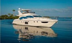 "EXCELLENT AZIMUT BUYING OPPORTUNITY ""Ramaya"" is an exquisite 4 Stateroom + Crew, 70' Flybridge Motor Yacht. Powered by Twin 1300hp MAN Diesels - only 430 hours. 28 knot cruise with top speed of 33 knots. She is appointed with all the available options"
