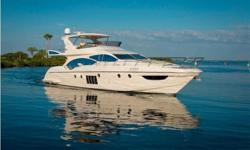 EXCELLENT AZIMUT BUYING OPPORTUNITY'Ramaya' is an exquisite 4 Stateroom + Crew, 70' Flybridge Motor Yacht.Powered by Twin 1300hp MAN Diesels - only 430 hours.28 knot cruise with top speed of 33 knots.She is appointed with all the available options
