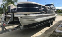 Available in Stores: Fort Lauderdale Low hours- boat is in great shape with top and cover. Nominal Length: 22.5' Length Overall: 22' Length Of Deck: 21.9' Beam: 8 ft. 6 in.
