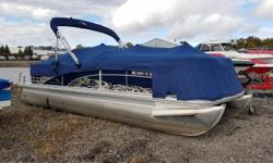 2011 Bennington 2275RCW with 75ELPT EFI four stroke Mercury. For additional information call us today at 800-875-2620 and select the location nearest you or view Michigan's largest selection of boats direct only at www.wilsonboats.com.