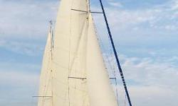 Heavy Duty World Cruiser El Shaddai, a design by world renowned naval architect Bruce Roberts, was painstakingly built by her owner in  2011 to be capable of circumnavigating in safety and comfort. Whether you want to sail the world or just