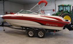 REDUCED $3800!! LIKE NEW, BEAUTIFUL BOWRIDER WITH LOW HOURS!! $30,000.00. The Sporty 210 Satisfies Everyone. For the family who's into everything, the 210 is the right choice. This 21-footer is a flexible cross-trainer for fun on the water. Whether it's