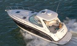 Harbor View Marineis proud to offer this amazing 2011 Chaparral 330 Signature Axius! SO many options: Fiberglass hardtop with exclusive foredeck walk-thru design, Stainless steel hand rails and tri-colored overhead lighting, Kevlar reinforced hull,