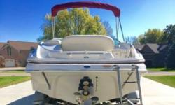 2006 Crownline 252 EX Make Crownline Model 252 EX Type Deck Bowrider Hull Material Fiberglass Use Fresh Water Engine Type Single Inboard Outboard Engine Make MerCruiser Engine Model 350 MAG Primary Fuel Type Gas For Sale By Owner Fuel Capacity 50 Gallons