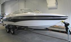 2011 Larson 206 Senza SUPER CLEAN 2011 LARSON 206 SENZA WITH ONLY 56 ENGINE HOURS!  A 260 hp Mercruiser 5.0L MPI (multi-port injected) w/ ECT (Emissions Control Technology) V8 engine powers this fiberglass bowrider.  Features include: