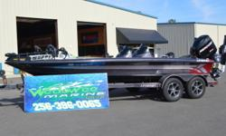 2011 Legend Alpha 211 Boat comes with an HDS 8 and a HDS 12 on dash and a HDS 9 and a HDS 5 on front. Also comes with Fortrex trolling motor. 333 Hours on engine. Boat in great condition!