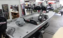 """With its 60"""" hull, the Stinger 175 is 6"""" wider than the leading competitor, making it one of the most stable, best performing boats in the mid-size class. Its super-sized, 85"""" wide deck offers 70 sq ft of open fishing space combined with 11.75 cu ft of"""