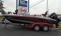 2011 Ranger 620DVS, STK# 50 SILVER/CARBON/RED, POWERED BY MERCURY 250 PXS, LOWRANCE LCX 112C (STRUCTURE SCAN), LOWRANCE HDS 5, MINNKOTA FORTREX 101/36V, COVER, 4 BANK CHARGER. Nominal Length: 20' Stock number: 50