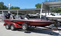 2011 RANGER Z520 dual console, with a Mercury 250 Pro-XS and tandem axle trailer. It's rigged with an 8' Talon, Lowrance HDS 7 (color GPS/FISH) at the helm and HDS 5 (color GPS/FISH) at the bow. The boat also has the Lowrance structure/side scan,