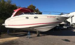 THE REGAL 3350 SPORTS CRUISER, THE ULTIMATE DAY BOAT WITH OVERNIGHT AND WEEKEND CAPABILITY. THIS BOAT IS VERY WIDE AND RUNS GREAT IN ROUGH WATER. POWERED BY TWIN VOLVO PENTA 5.7GXI ENGINES WITH 450 HRS OF FRESH WATER USE, THIS BOAT COMMANDS THE WATER. HER