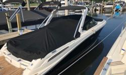 This 2011 Sea Ray 270SLX is a beautiful freshwater boat. With only 271 hours, its ready for its new owners. A boat big enough to entertain the family and be able to enjoy it. This boat has a Merc. 8.2 MAG DTS B3 engine with 375 HP. This boat is in