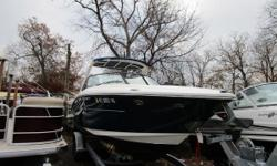 NEW INVENTORY 2011 Sea Ray 270SLX This 2011 Sea Ray 270 SLX is in very good condition w/ low hours on the motors w/ all the options! This boat comes w: Twin Mercruiser 8.1L w/ only 256 Sport Arch w/ Canvas Boat Covers Windlass Anchor Captains