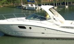 2011 35' Sea Ray Sundancer -- Low Hour Vessel in Immaculate Condition -- All Maintenance Up to Date, Turn Key Boat from Bow to Stern  Loaded with Upgrades Including: Bow + Stern Thrusters, Inboard V-Drive Mercruisers (370HP/ea), Generator, Air