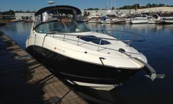 The Sea Ray Sundancer is known for performance and styling, on this particular model they have added some very convenient features to an already exciting boat. The 2011 Sea Ray 280 Sundancer has a very functional helm and cockpit layout with large, wide,