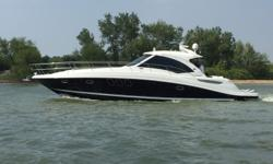 *****CLEAN SEA RAY TRADES WILL BE CONSIDERED*****2011 50' Sea Ray Sundancer -- Pristine Black Hull Vessel w/ Low Hours on Twin Cummins QSC-550'sLoaded with Upgrades: Hydraulic Swim Platform, Twin Raymarine E120 Widescreen Units, FLIR Night Vision,