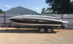 2011 Sea Ray Sundeck 240 Beam: 8 ft. 6 in. Hull color: Black Stock number: C64B111