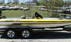 Here is a great opportunity to get into a boat renowned for its performance, in excellent condition. Loaded and tournament ready, equipped with Garmin high end electronics, two Power Pole shallow water anchors, and a Minn Kota Fortrex 80. Powered by a