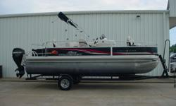 Specifications Category: PONTOONS & TRI-TOONS Year: 2011 Make: SUN TRACKER Model: FISHIN BARGE 21 Length: 21.0' Engine: MERCURY 60 ELPT BF 4S' Price: $15,995.00 Stock Number: D106 Location: Tulsa, OK Phone: 918-438-1881 Boat Details USED 2011 SUN TRACKER