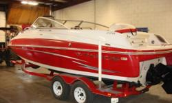 Fore & aft platforms w/boarding ladders, non-skid surfaces, anchor locker & insulated cooler/rope storage Aft wakeboard/kneeboard storage area accessible from swim platform Walk-thru transom gate Color-keyed acrylic Bimini top Aft L-lounge w/storage