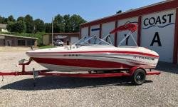 VERY NICE CLEAN BOAT 4.3 V-6 BIMINI TOP MOORING COVER TRAILER Nominal Length: 19.4' Length Overall: 19' Max Draft: 1.4' Draft: 1 ft. 5 in. Beam: 7 ft. 7 in. Fuel tank capacity: 23