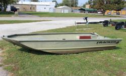 2011 Tracker 1448 The all-welded TRACKER GRIZZLY 1448 AWL is perfect for outdoorsmen who want a rugged, no-frills Jon boat that can fish and hunt. Its 19-inch (48.26 centimeter) all-aluminum transom is designed to accommodate a long-shaft tiller engine