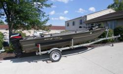 2011 War Eagle 542FLD Nominal Length: 16' Length Overall: 1' Engine(s): Fuel Type: Other Engine Type: Outboard Beam: 1 ft. 0 in. Stock number: 14878