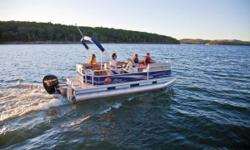 2012 Sun Tracker PARTY BARGE 18 DLX The nimble PARTY BARGE 18 DLX is easy to pilot and eager to go. Designed and sized to be towed behind smaller tow vehicles, the possibilities for family adventures are endless! It comes packed with more luxury and
