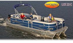 """Your choice of 4-stroke outboard. 150-225hp Stock ID: 1227SpecsLength Overall (LOA): 22' 6""""Deck Width: 102""""Pontoon Gauge: .100Nose Cone Gauge: .200Approx. Dry Hull Weight: 2,820 lbs.Approx. Pkg. Weight: 4,570 lbs.Maximum H.P.: 225Maximum Weight Cap: 2,800"""