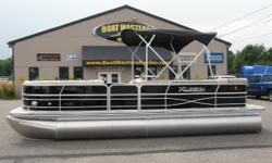 2012 Xcursion X-23 (X23C) New 2012 Xcursion Pontoon Boat priced with Mercury 9.9HP Outboard. Xcursion Pontoons.. The newest line from Forest River, Inc. This new luxury pontoon is everything you've been waiting for. Loaded with features not found in a
