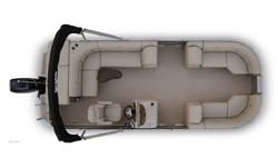 2012 Xcursion X-23C Jump aboard one of Xcursion's cruise models and take note to the features that surround you. We have taken the typical cruise pontoon to the next level with our standard Sand Dollar Berber carpet, suspension foam seating, a well
