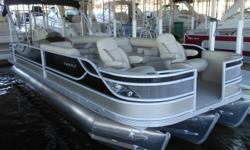 "Stock ID: 98599 Category: Powerboats Water Capacity: 0 gal Type: Pontoon Holding Tank Details:  Manufacturer: Crest Holding Tank Size:  Model: CAR250SLX Passengers: 0 Year: 2012 Sleeps: 0 Length/LOA: 25' 0"" Hull Designer:  Price: $62,831 / €48,283"
