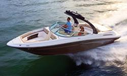 From the yacht club to family raft-ups, this boat can take whatever you throw at it. The sporty 250 SLX comes primed for fun with state-of-the-art components and conveniences. Top it off with an optional water sports tower with bimini. And now, 2012.5